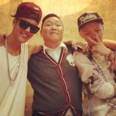 Psy, Justin, GD