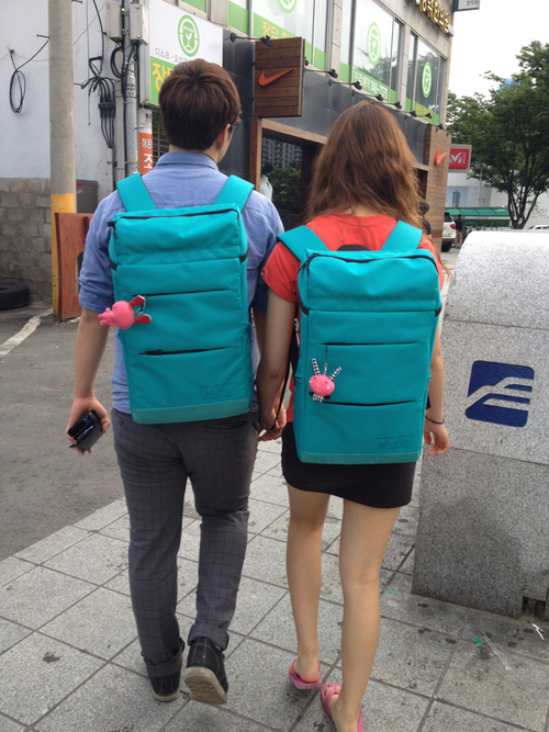 Couple Backpacks