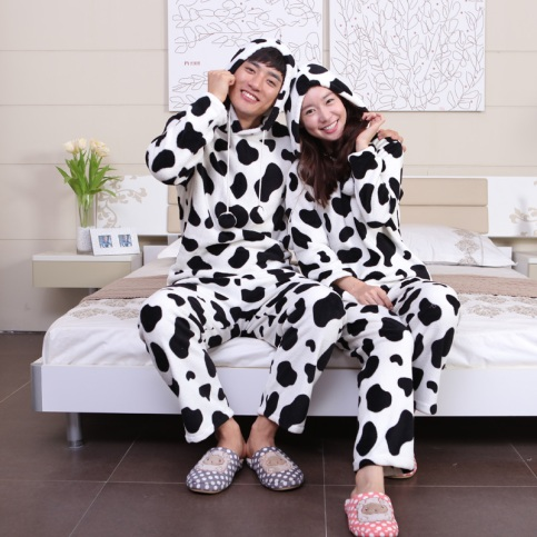 Couple Cow PJs