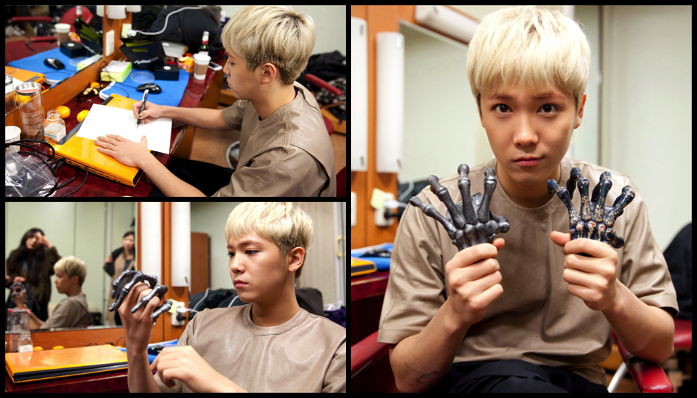 Hongki Skeleton Hands