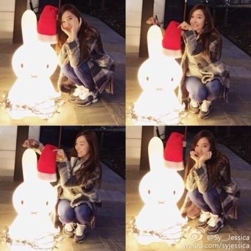 Jessica- Christmas Weibo