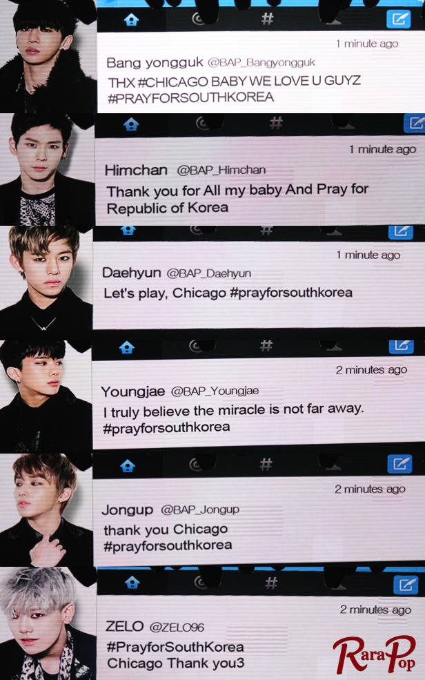 Pray for South Korea - B.A.P