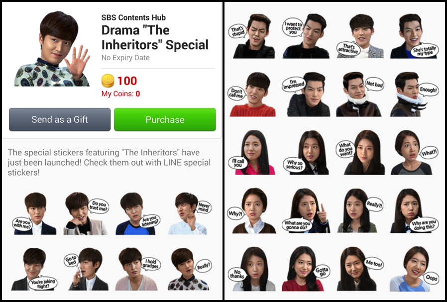 Heirs Stickers