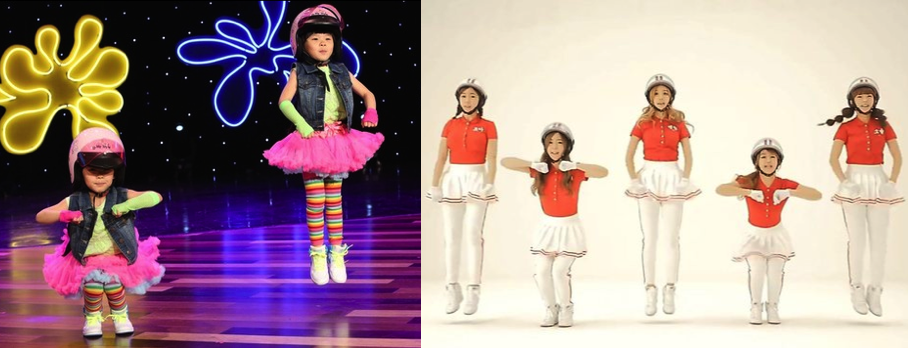 Jumping Crayon Pop