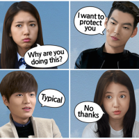 Heirs Stickers on LINE - Comics