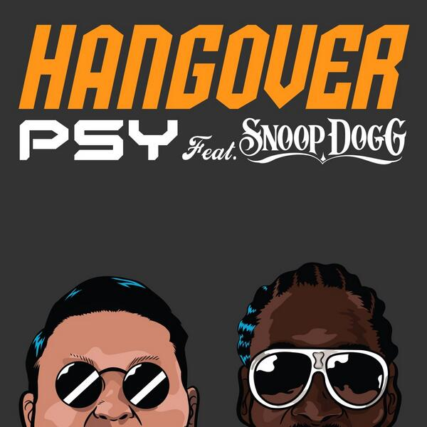 PSY_Hangover Poster