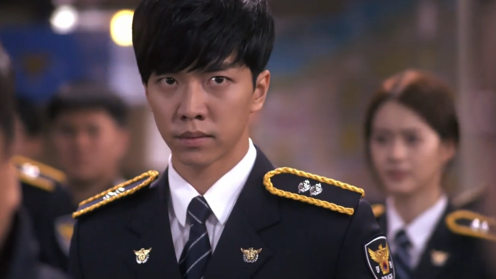 Lee Seung Gi in Uniform