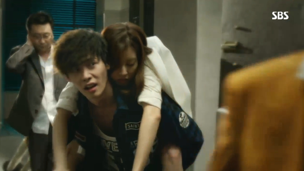 Doctor Stranger Piggy Back