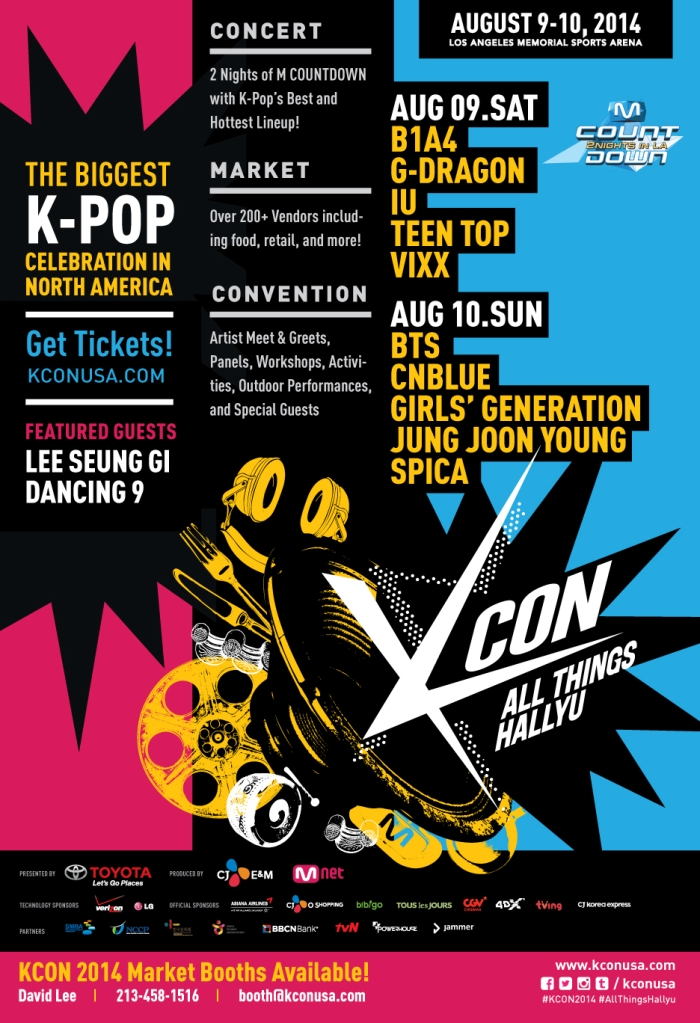 KCON Lineup