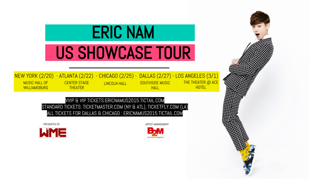 Eric Nam Concerts