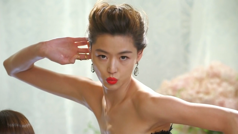 Song Yi- pose