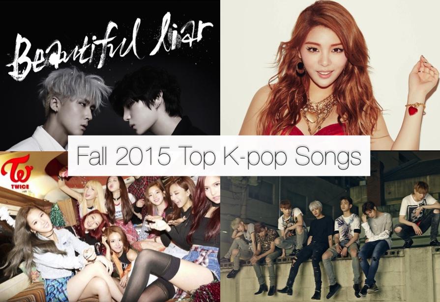 Kpop songs fall 2015